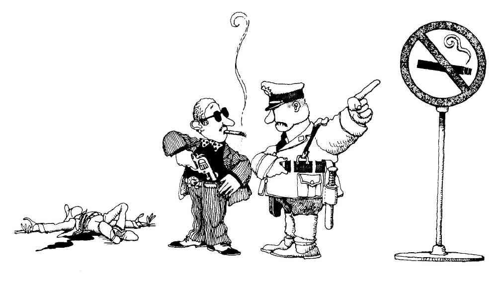 LA SANDUNGA: PROHIBIDO FUMAR