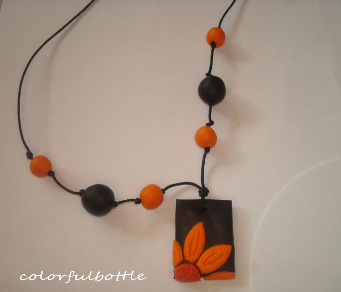 Colorfulbottle: Playing with polymer clay