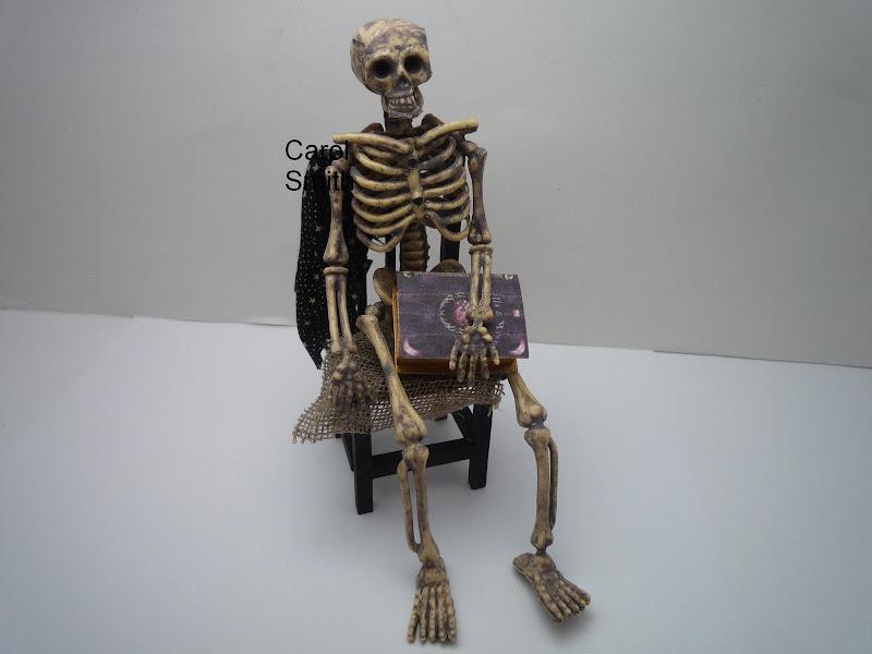 Skeleton On Chair