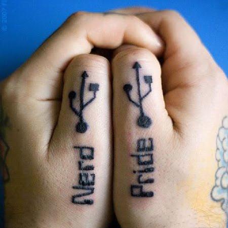 Computer Nerd Tattoo's