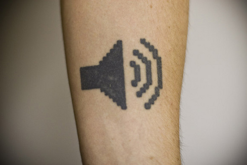 barcode tattoo. Barcode Tattoos are done and