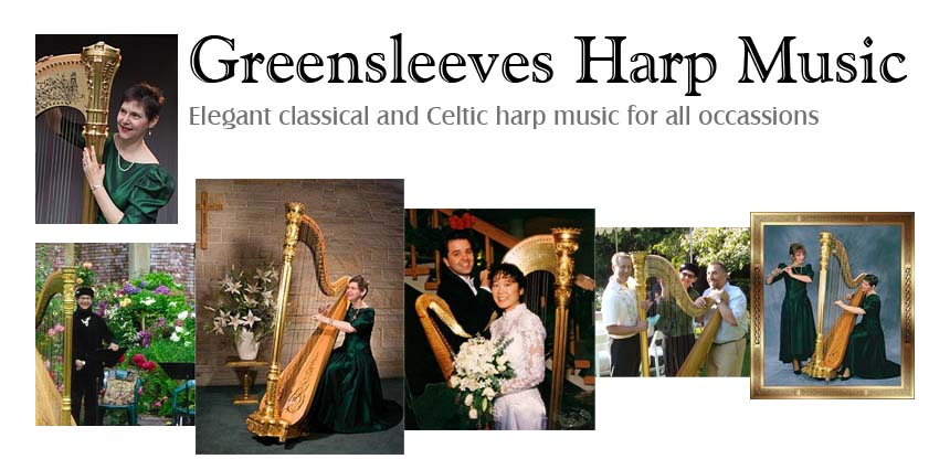 Greensleeves Harp Music