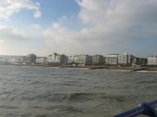 morze i już. eastbourne.