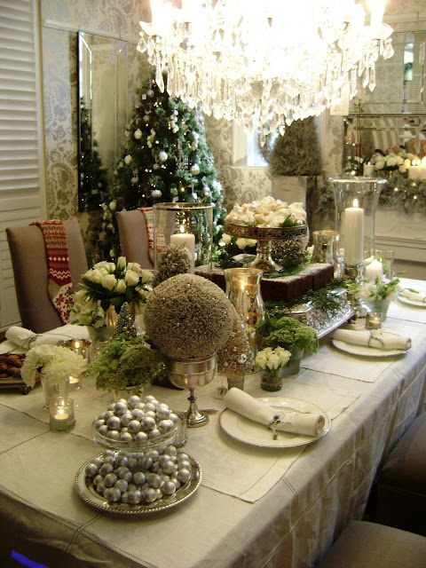 Gypsy Purple: Christmas Find: Inspiring Christmas tables