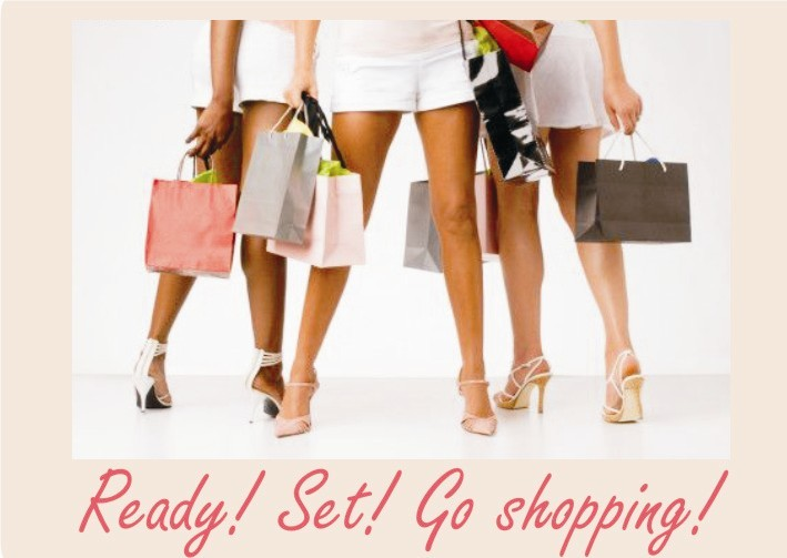 Ready! Set! Go shopping!