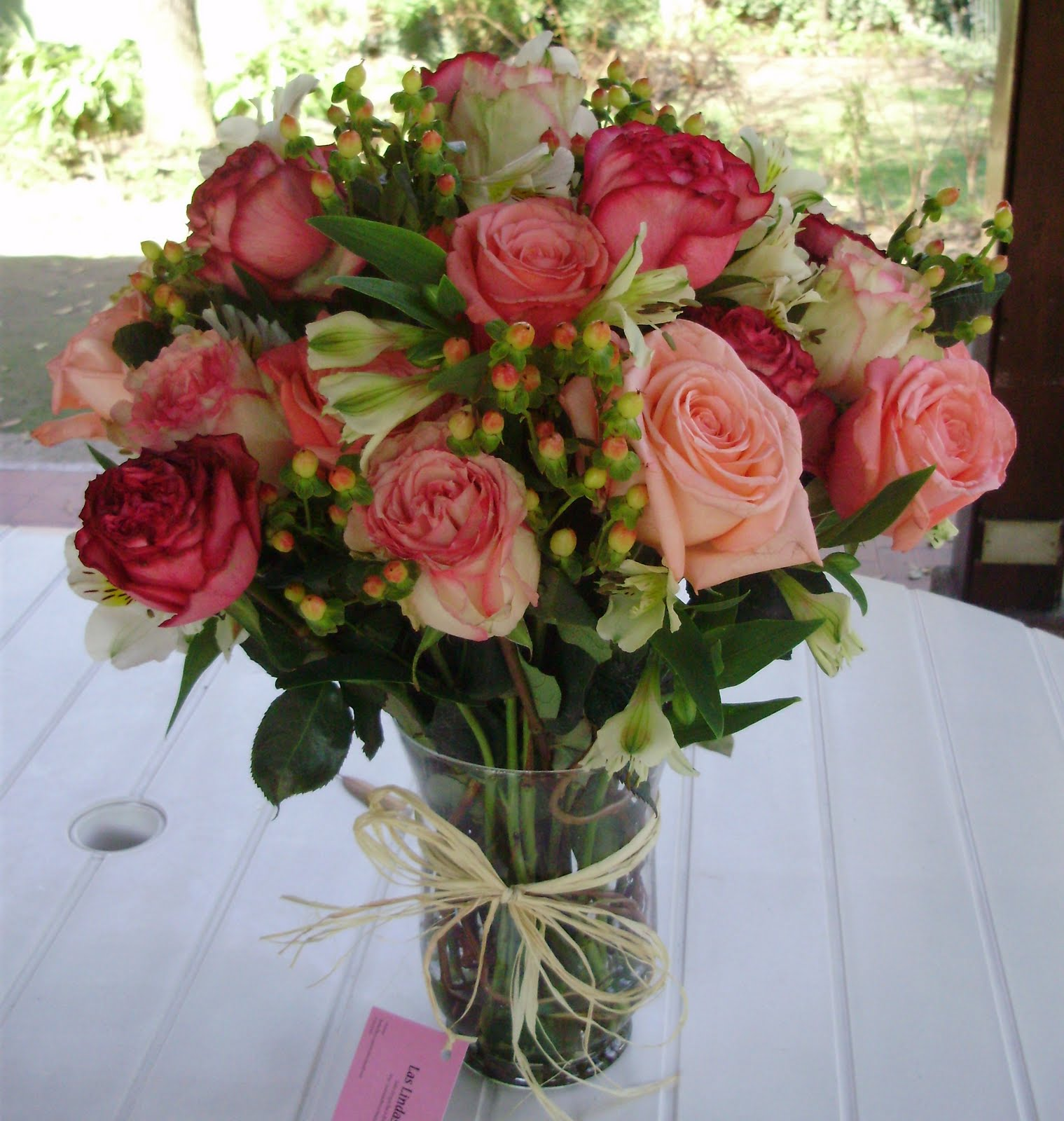 Imágenes de arreglos florales con frases para mamá Todo  - Imagenes De Arreglos De Flores Hermosas