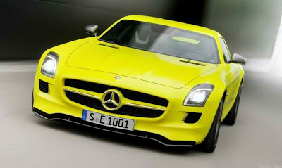 2010 Mercedes-Benz SLS AMG E-Cell Design