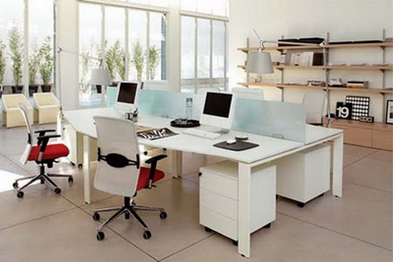 Home interior and exterior design office design ideas and for Modern office space layout