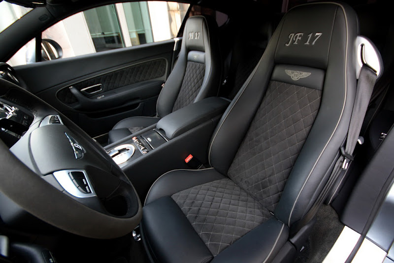 Bentley GT Supersports Interior Design