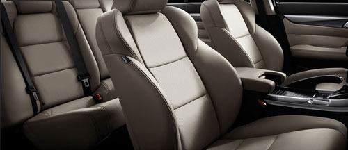 2012 Acura TL Limited Interior Design