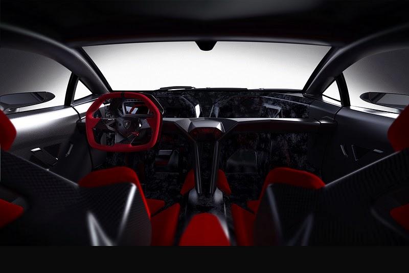 Lamborghini Sesto Elemento Interior Design