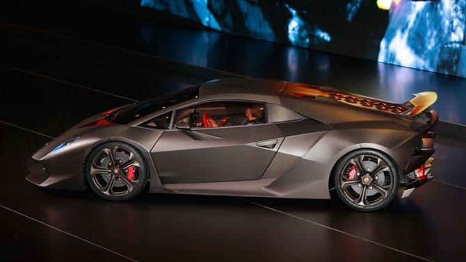 Design Lamborghini Sesto Elemento