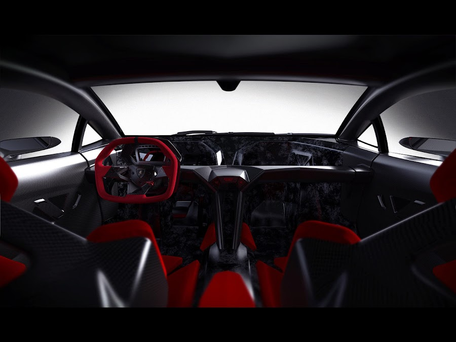 Lamborghini Sesto Elemento Engine