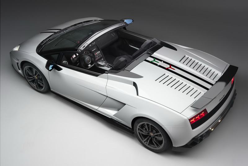 Lamborghini Gallardo LP 570-4 Spyder Performante Design