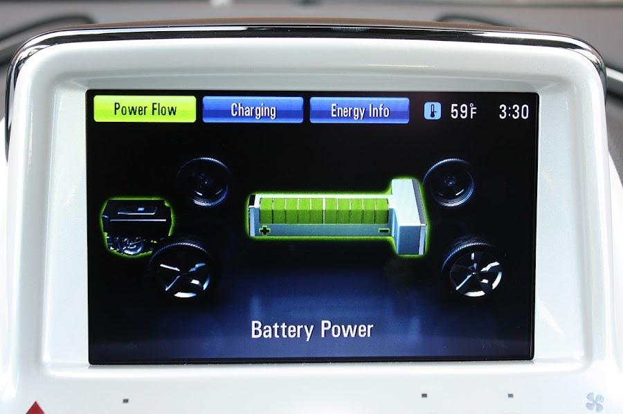 2011 Chevrolet Volt Battery Power Indicator