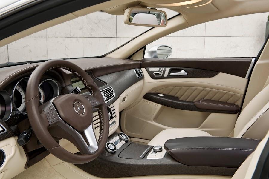 Mercedes-Benz CLS Interior Design