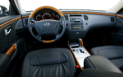 2012 HYUNDAI AZERA Specification