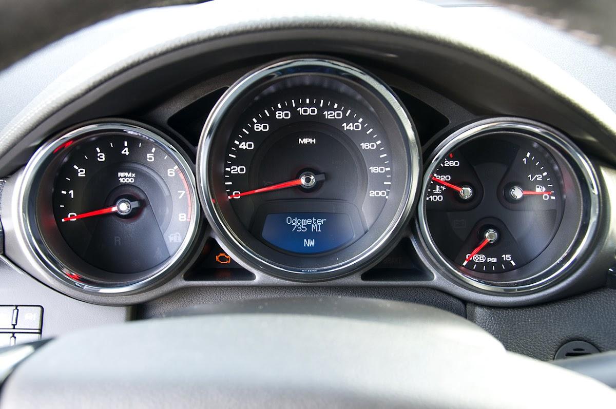 2011 Cadillac CTS-V Wagon Indicator