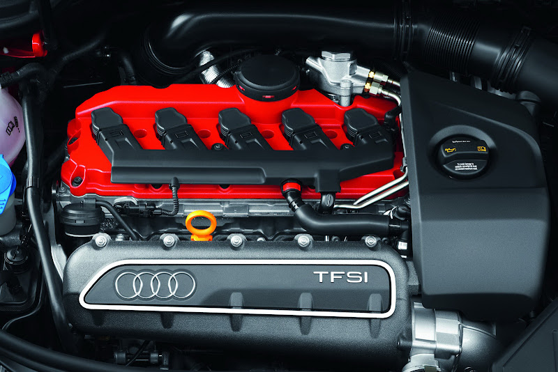 Audi RS3 Sportback Engine Design