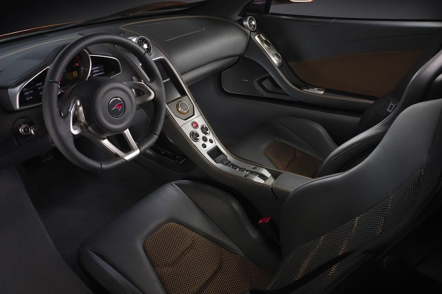 McLaren MP4-12C Design Interior