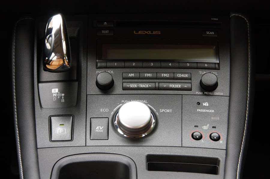2011 Lexus CT 200h DVD Player