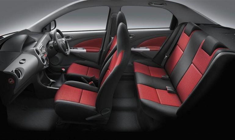 2012 Toyota Etios Interior Design