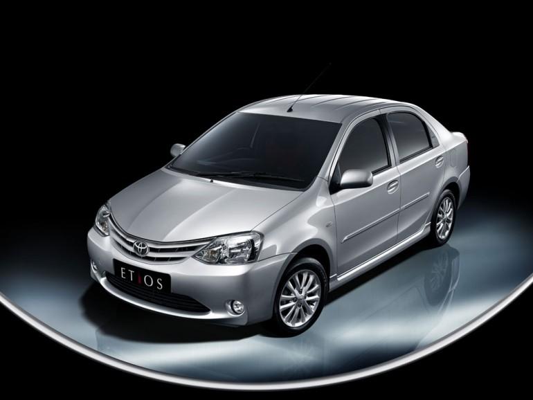 2011 Toyota Etios Wallpaper