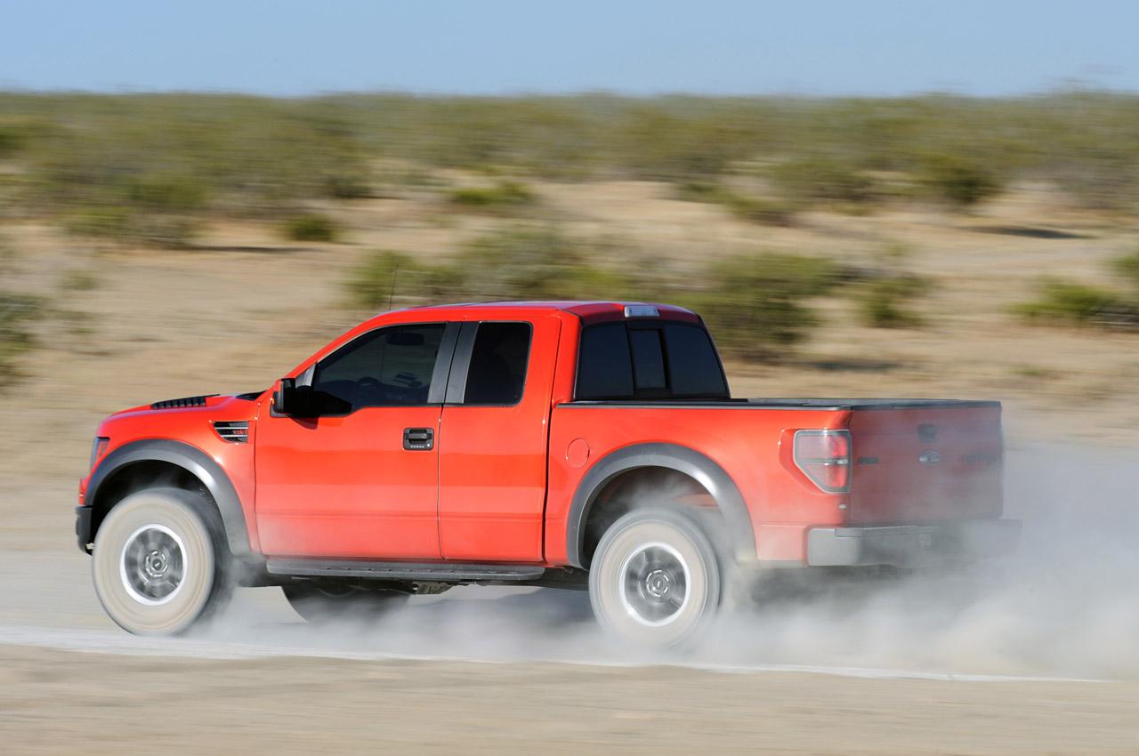 2010 SVT Raptor 6.2 Ford F-150 Wallpaper