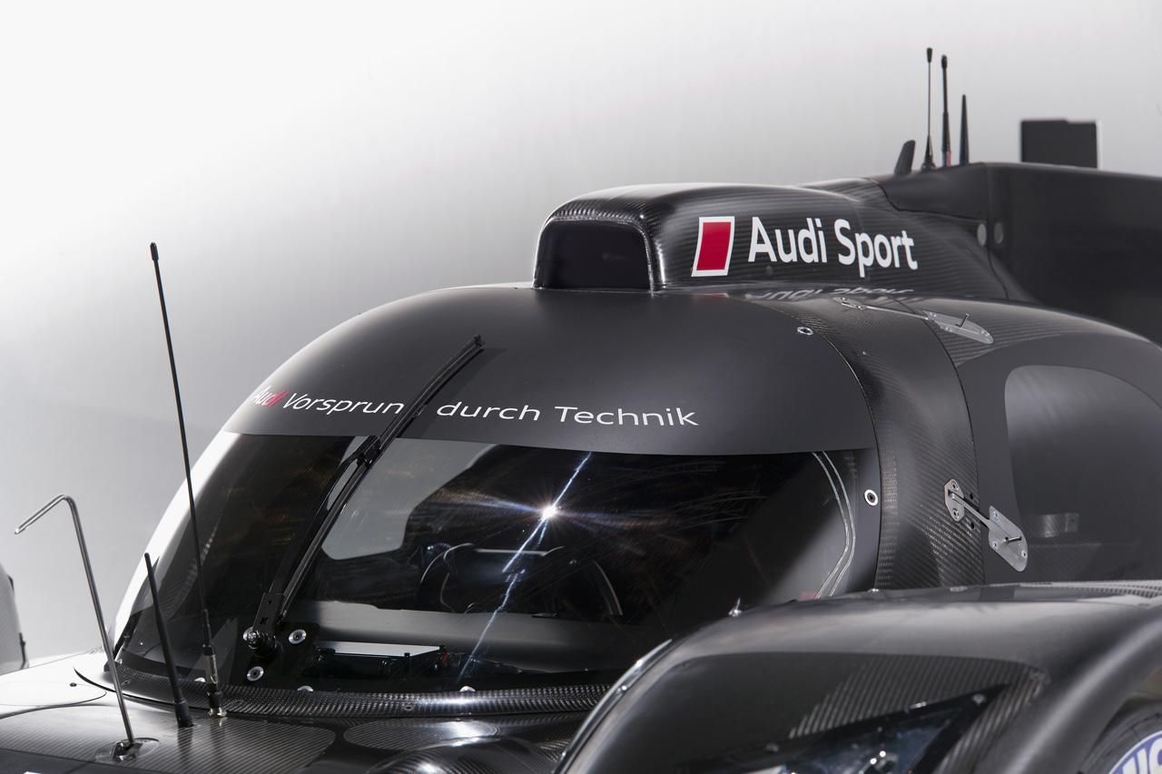 Audi R18 LMP1 Cabin