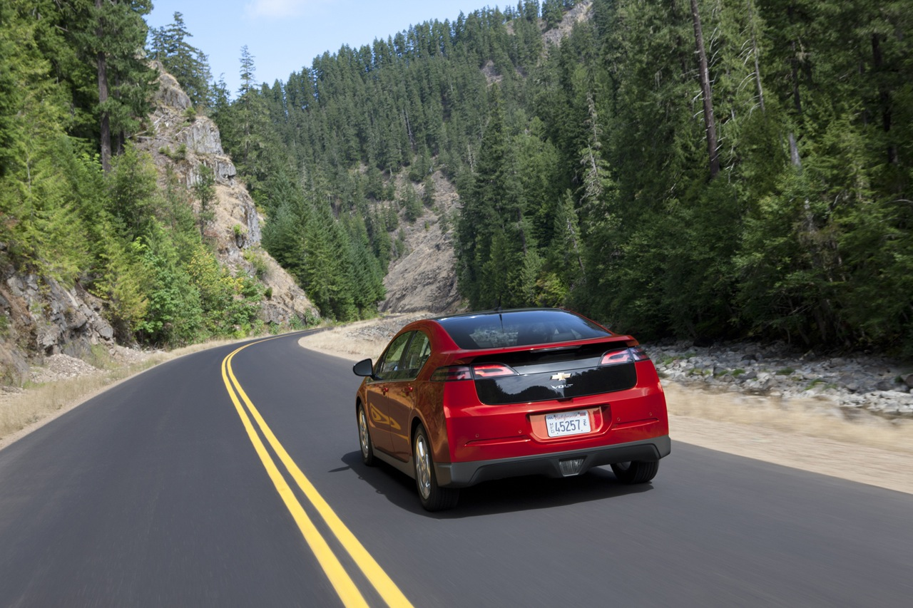 2012 Chevrolet Volt Wallpaper