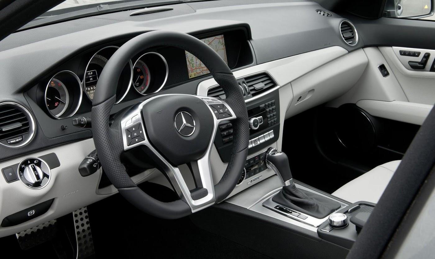 Mercedes C-Class Estate Interior Design