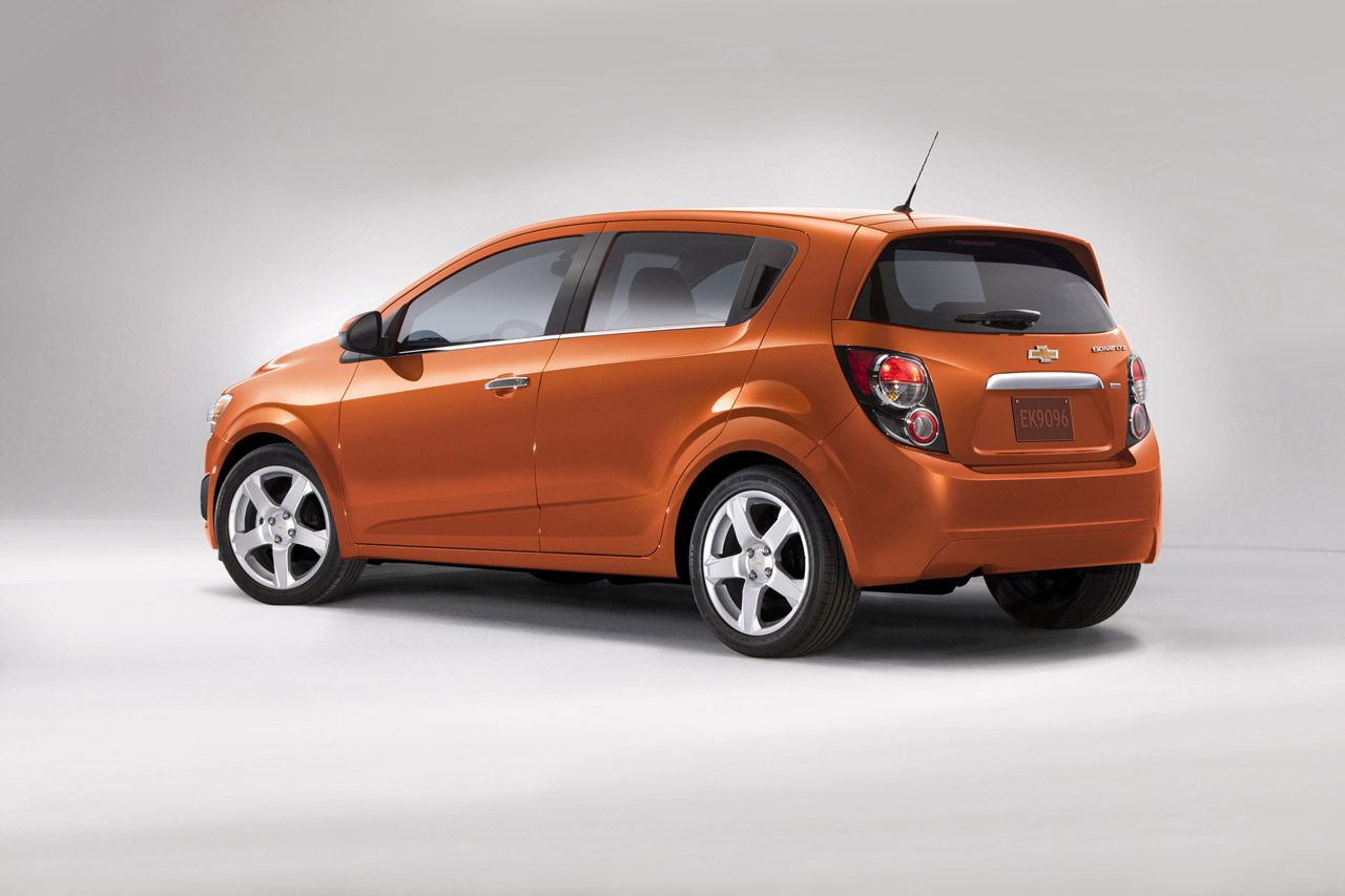 2012 Chevrolet Sonic Hatchback Design Concept