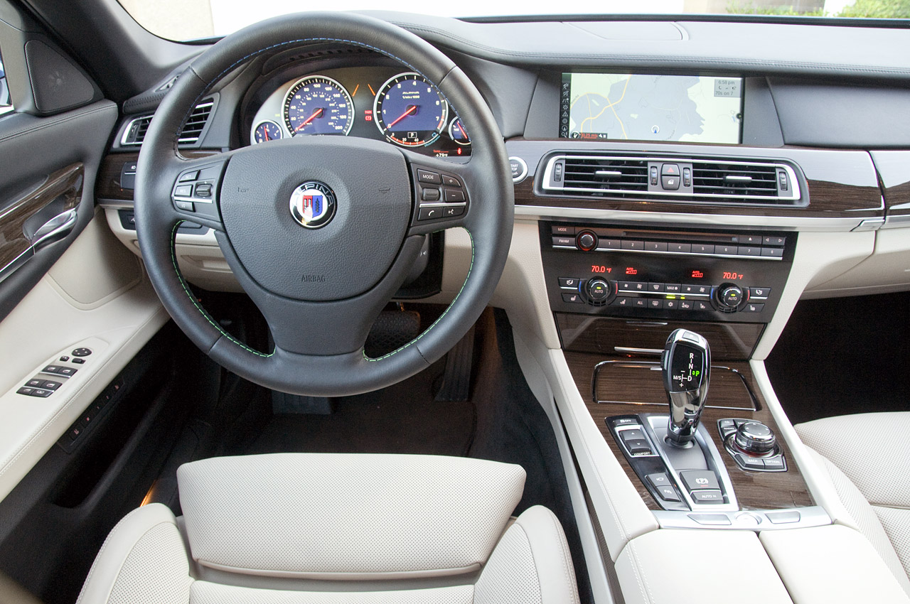 2011 BMW ALPINA B7 INTERIOR DEISGN