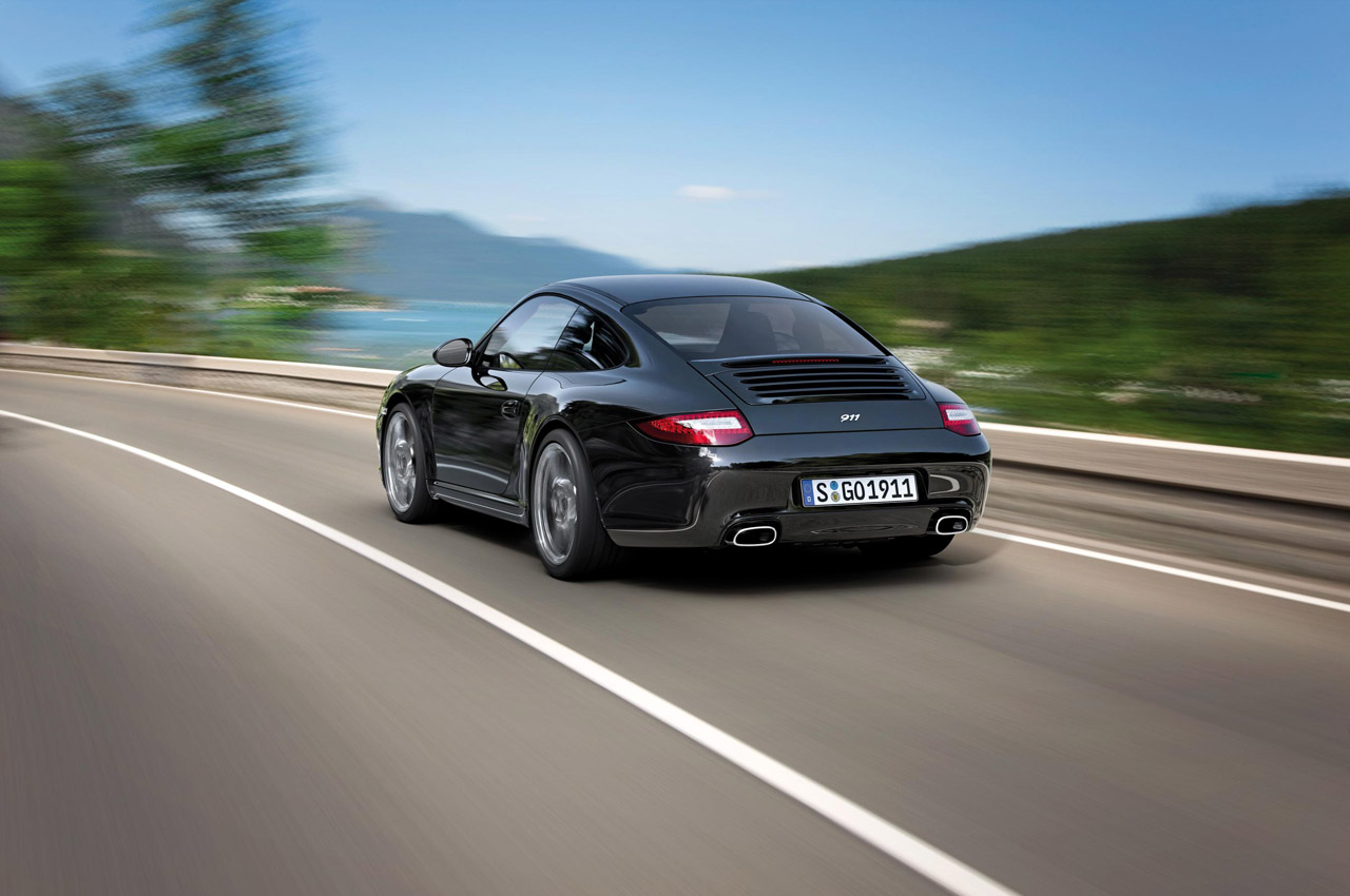 2012 PORSCHE 911 BLACK EDITION HD WALLPAPER