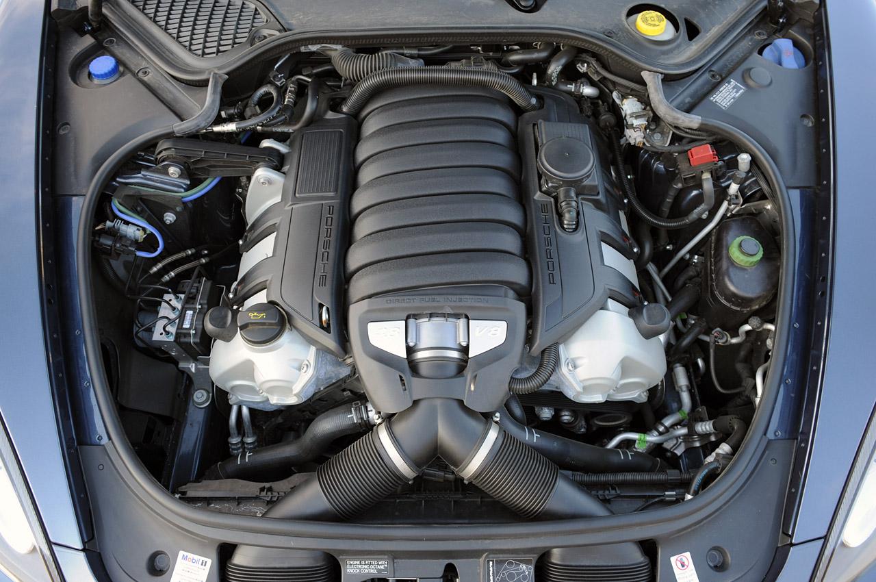2010 PORSCHE PANAMERA 4S ENGINE