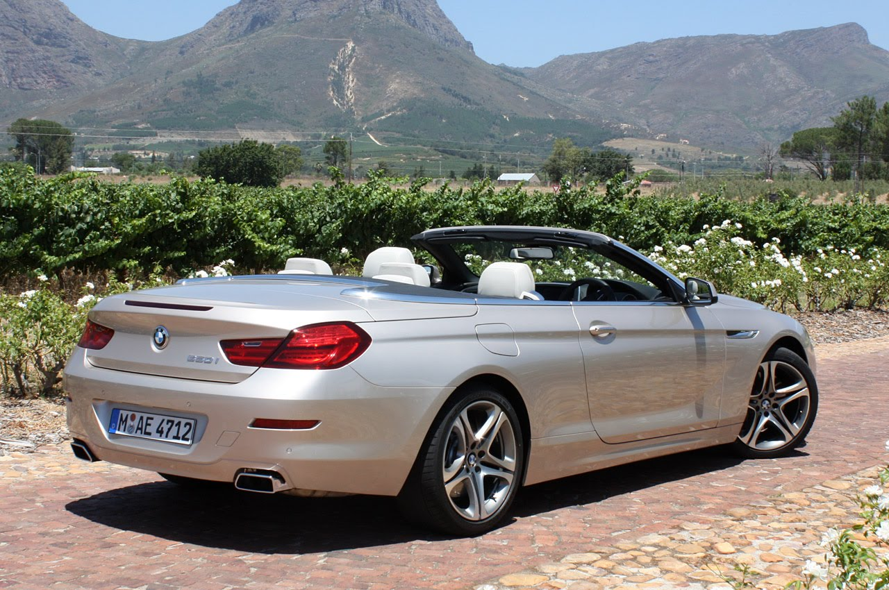 2012 BMW 6 SERIES CONVERTIBLE HD WALLPAPER