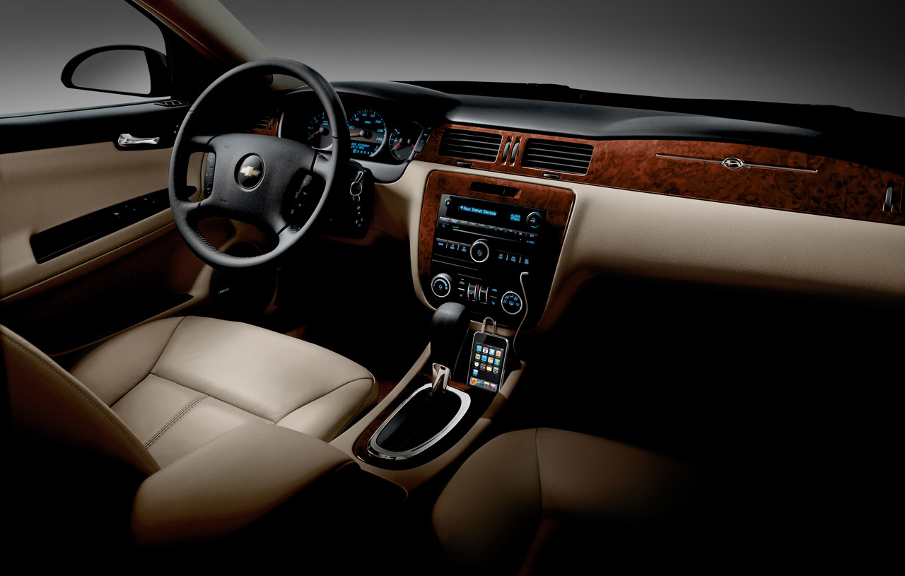 2011 CHEVROLET IMPALA INTERIOR DESIGN