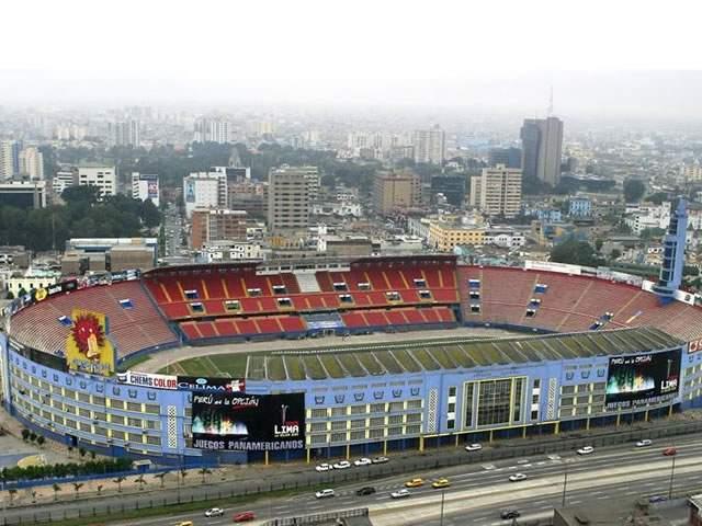 Peru tiene un Estadio muy bonito