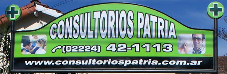 Consultorios Patria - Patria 62 GLEW -            (02224) 42-1113 / 43-2958 / 43-3084