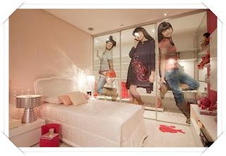 quarto para menina adolescente Quarto dos sonhos