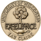 UW-Eau Claire excellence medallion
