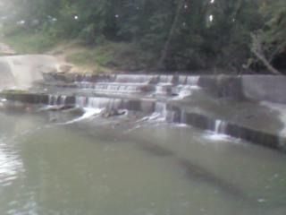 A gorgous pic of the waterfall that I love to go and relax at.. in Frontier Park.. in Hays