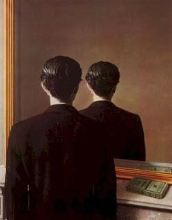 Resultado de imagem para magritte quadro espelho