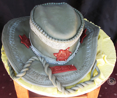 Wedding Cakes Briar White Roses Birthday Cakes Cowboy Hat
