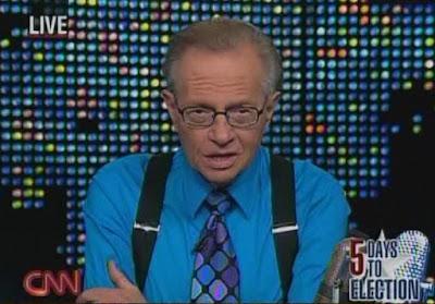 Larry King CNN October 2008