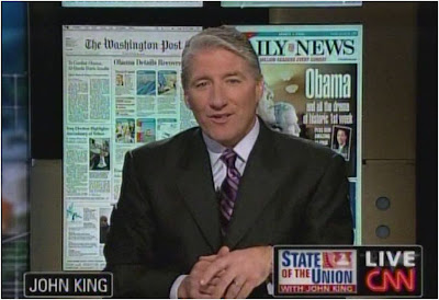 John King CNN State of the Union January 25, 2009