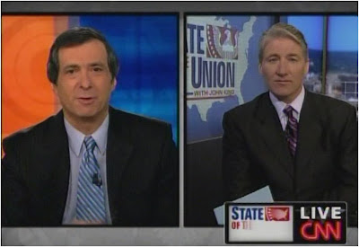 John King Howard Kurtz CNN State of the Union January 25, 2009