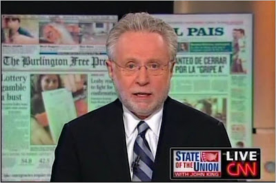 Wolf Blitzer CNN State of the Union with John King July 12, 2009