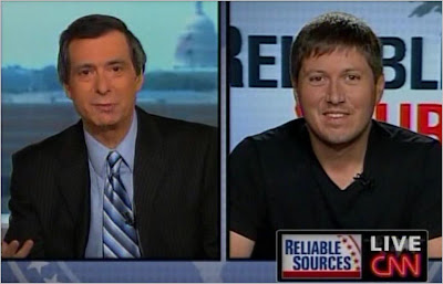 Howard Kurtz Will Leitch CNN State of the Union with John King Reliable Sources August 9, 2009