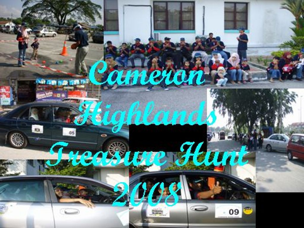 Cameron Highlands Treasure Hunt 2008